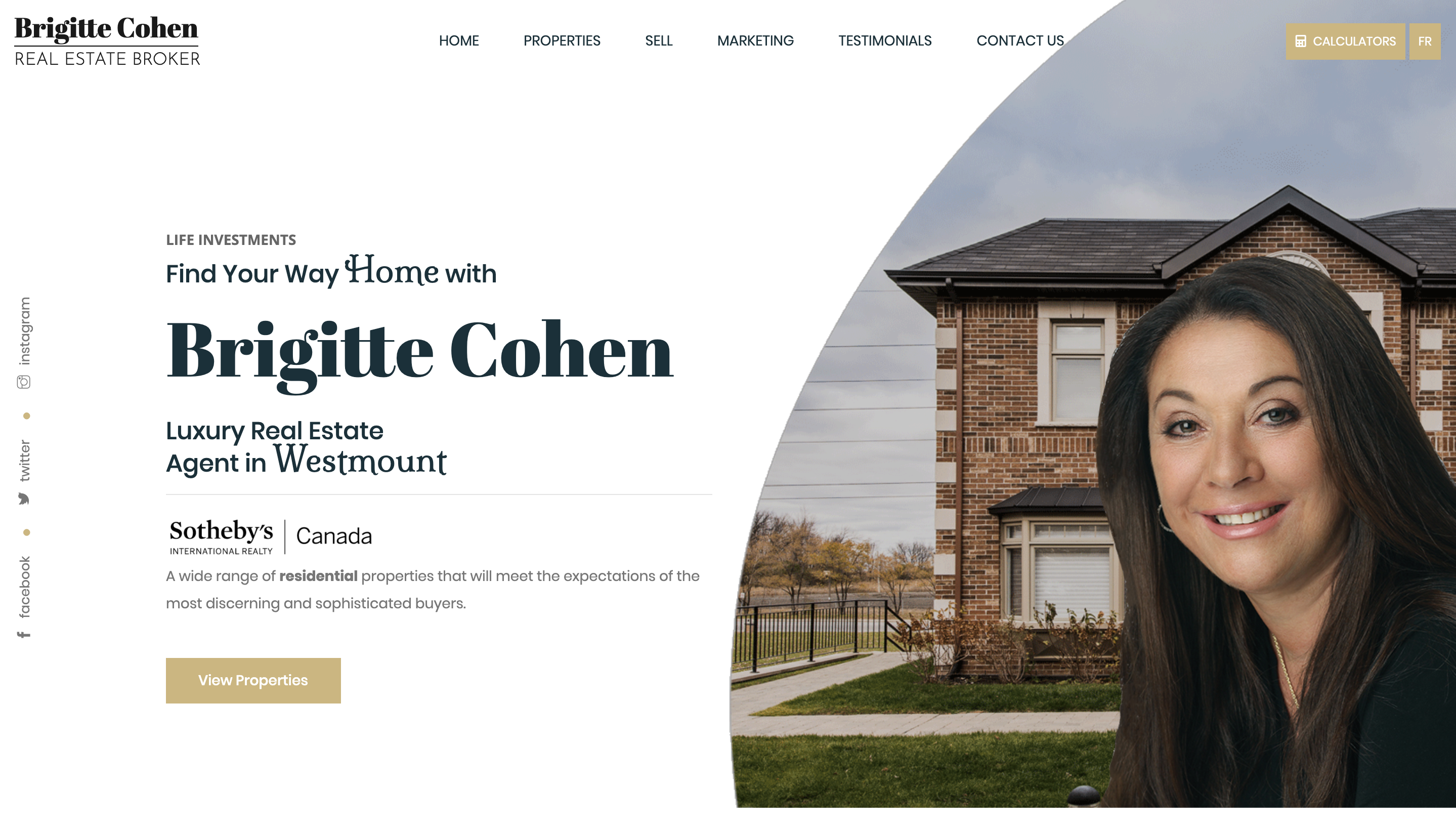 Brigitte Cohen Real Estate Broker